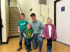 Greg P with Kids